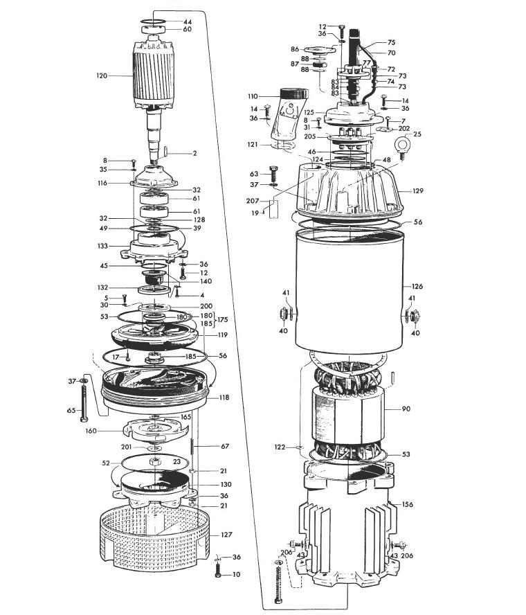 mississippi valley pump inc pump detail model 2201 320. Black Bedroom Furniture Sets. Home Design Ideas